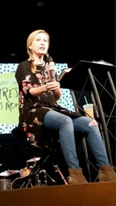 Jennie Allen, Founder of IF:Gathering & Keynote Speaker at McLean Bible Church Women's Conference