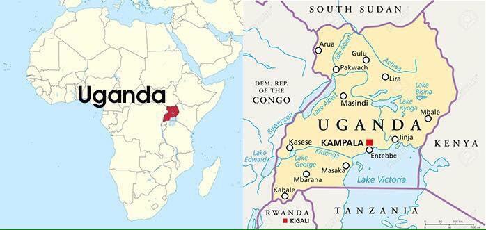 Uganda in Africa