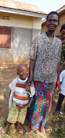 Ugandan boy with Down Syndrome