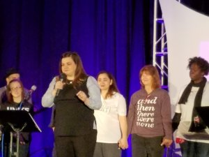 Abby Johnson and her friends, all former abortion workers. Praise God for their redemption in Christ!