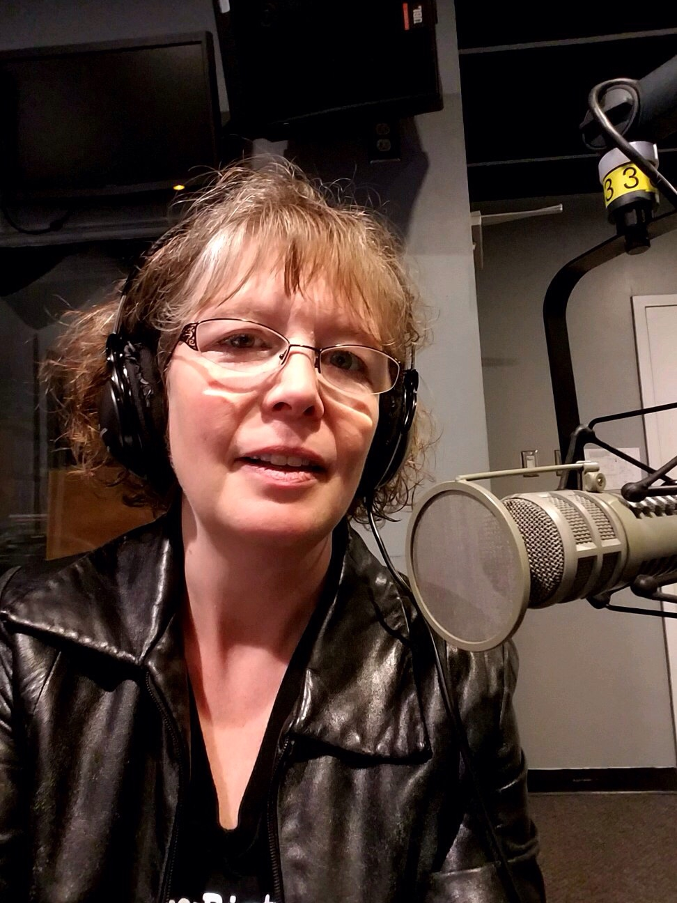 Cheryl Krichbaum on the radio